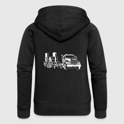 Traveler truck soundsystem 23 - Women's Premium Hooded Jacket