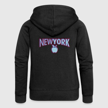 New York 2 - Women's Premium Hooded Jacket