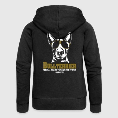BULLTERRIER coolest people - Women's Premium Hooded Jacket