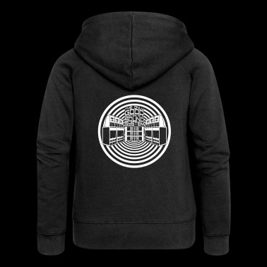 THE ONLY GOOD SYSTEM IS A SOUND SYSTEM - Women's Premium Hooded Jacket
