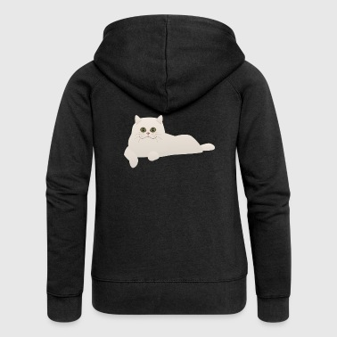 cat cat kitten animal animal - Women's Premium Hooded Jacket