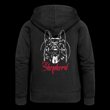 GERMAN SHEPHERD - Women's Premium Hooded Jacket