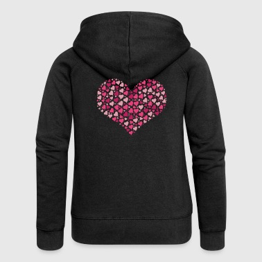 heart - Women's Premium Hooded Jacket