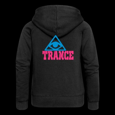 trance - Women's Premium Hooded Jacket