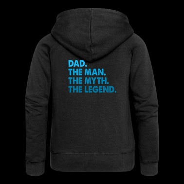 Favourite Dad. Best Dad. Gifts for Dads. Daddy. - Women's Premium Hooded Jacket