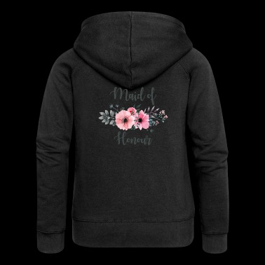 Maid of Honour. Hen Party. Bridesmaid. Hen do.Sale - Women's Premium Hooded Jacket