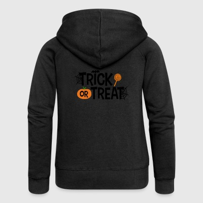 Trick or treat - Frauen Premium Kapuzenjacke