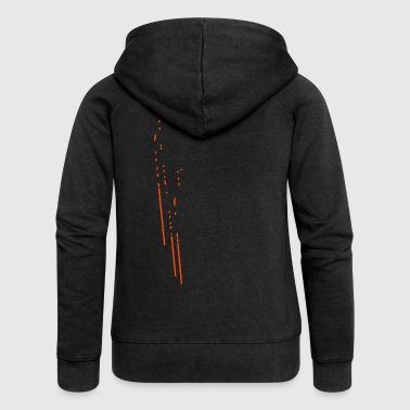 abstract - Women's Premium Hooded Jacket