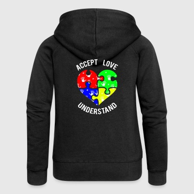 autism - Women's Premium Hooded Jacket