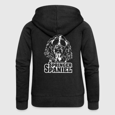 SPRINGER SPANIEL cool - Women's Premium Hooded Jacket