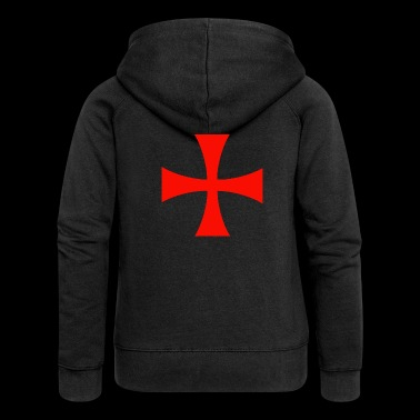 Assassin's Creed Templar Cross - Women's Premium Hooded Jacket