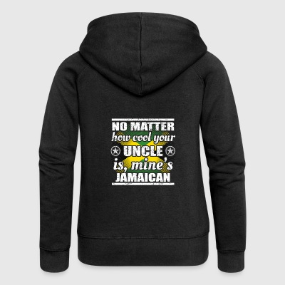 no matter cool uncle uncle gift Jamaica png - Women's Premium Hooded Jacket