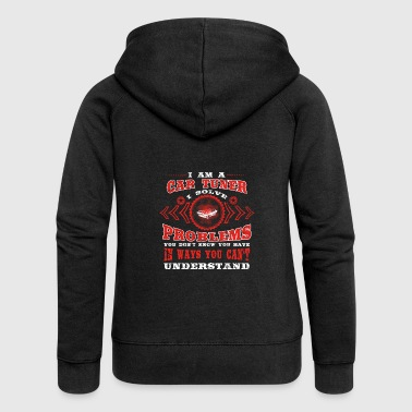 poison solve problems know CAR TUNER - Women's Premium Hooded Jacket