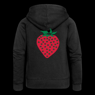 Strawberry - Strawberry - Women's Premium Hooded Jacket