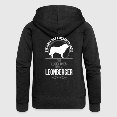 LEONBERGER Guardian Angel Wilsigns - Women's Premium Hooded Jacket