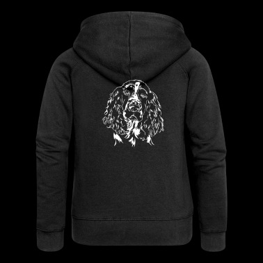 ENGLISH SPRINGER SPANIEL - Women's Premium Hooded Jacket