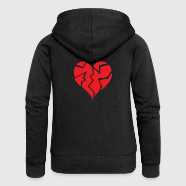 Heart Broken - Women's Premium Hooded Jacket