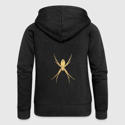 gold spider - Women's Premium Hooded Jacket