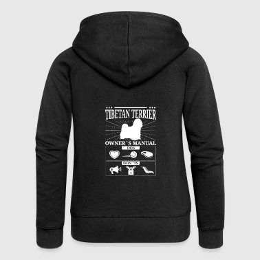 Tibetan Terrier owner gift - Women's Premium Hooded Jacket