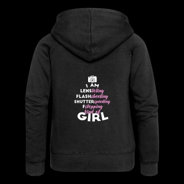 Photograph - Photo - Gift - Women's Premium Hooded Jacket