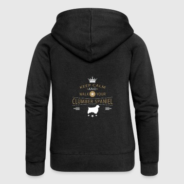 Clumber Spaniel shirt - Women's Premium Hooded Jacket