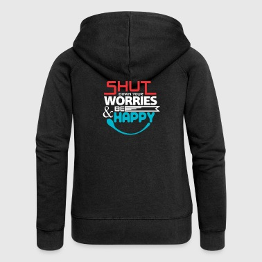 T SHIRT TYPOGRAPHY 07 b - Women's Premium Hooded Jacket