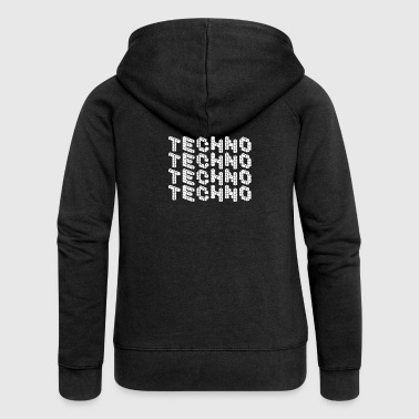 TECHNO SHIRT / CLUBWEAR - Women's Premium Hooded Jacket