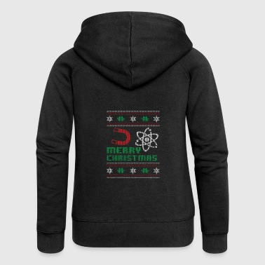 Funny Physicist Shirt Merry Christmas - Women's Premium Hooded Jacket