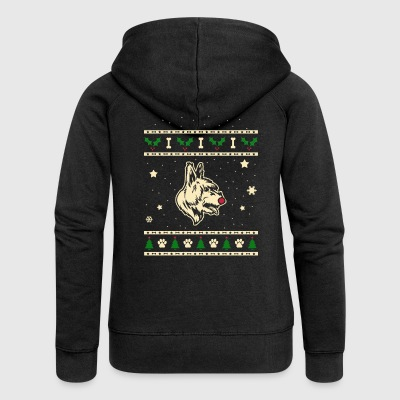 Bouvier Des Ardennes Christmas Gift - Women's Premium Hooded Jacket