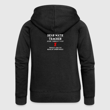 Funny math t-shirt - Women's Premium Hooded Jacket