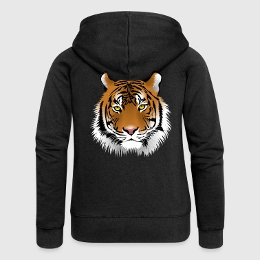 tiger - Women's Premium Hooded Jacket