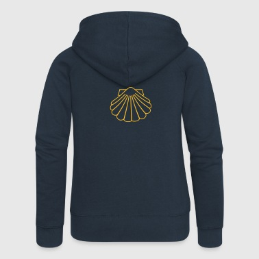 Scallops as a good luck symbol - Women's Premium Hooded Jacket