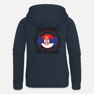 Serbia serbia - Women's Premium Hooded Jacket