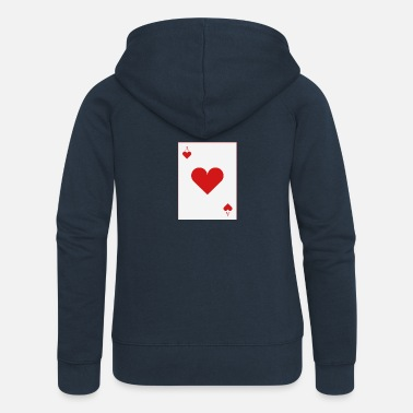Cards poker card - Premium luvjacka dam
