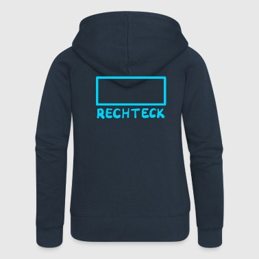 rectangle - Women's Premium Hooded Jacket