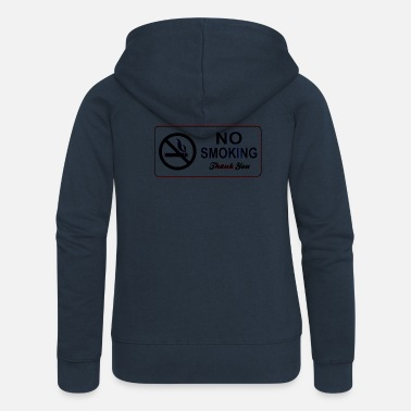 No Smoking no smoking - Women's Premium Zip Hoodie