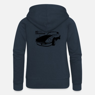 Touge black for - Women's Premium Zip Hoodie