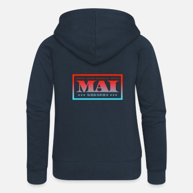 May May - Women's Premium Zip Hoodie