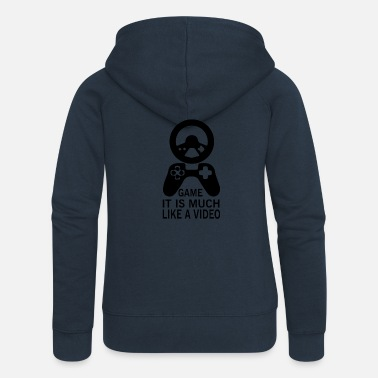 Video Video Game - Frauen Premium Kapuzenjacke