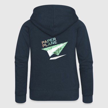 Paper plane - Women's Premium Hooded Jacket