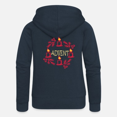 Advent Advent - Women's Premium Zip Hoodie