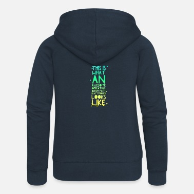 Odp Awesome ODP - Women's Premium Zip Hoodie