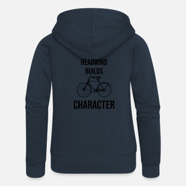 Headwind Headwind strengthens the character - Women's Premium Zip Hoodie