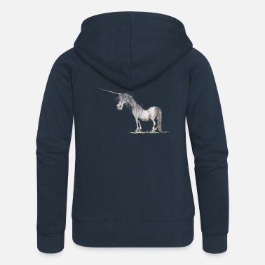 The Last Unicorn - Women's Premium Zip Hoodie