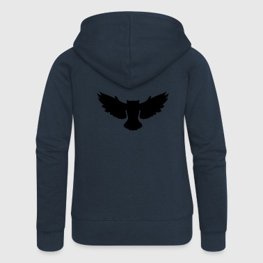 owl - Women's Premium Hooded Jacket