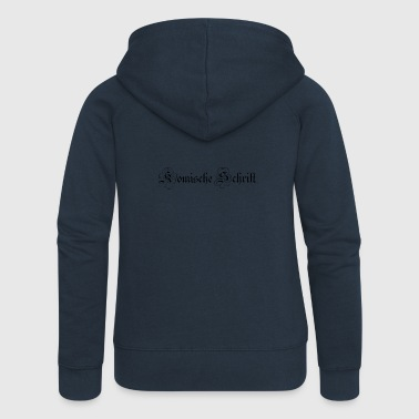 font - Women's Premium Hooded Jacket
