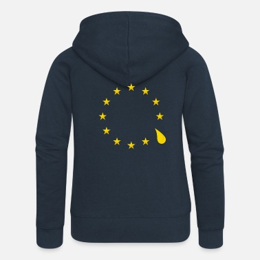 Sad Sad that the UK is leaving the European Union - Women's Premium Zip Hoodie