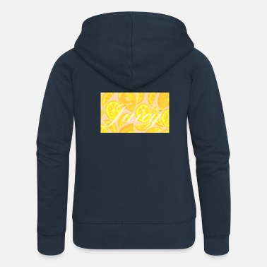 Juicy Juicy - Women's Premium Zip Hoodie