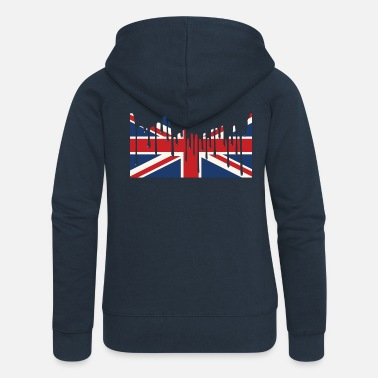 Union Jack UNION JACK Tee Shirts - Women's Premium Hooded Jacket