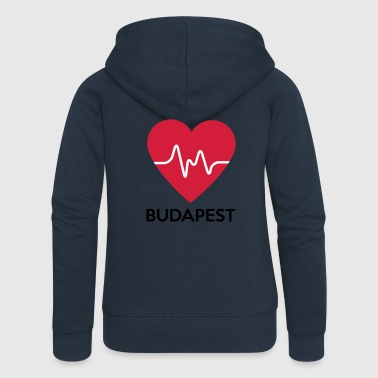 heart Budapest - Women's Premium Hooded Jacket